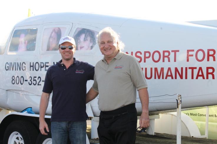 Steve Purello & Mark Mirin at Stuart Air Show 2011