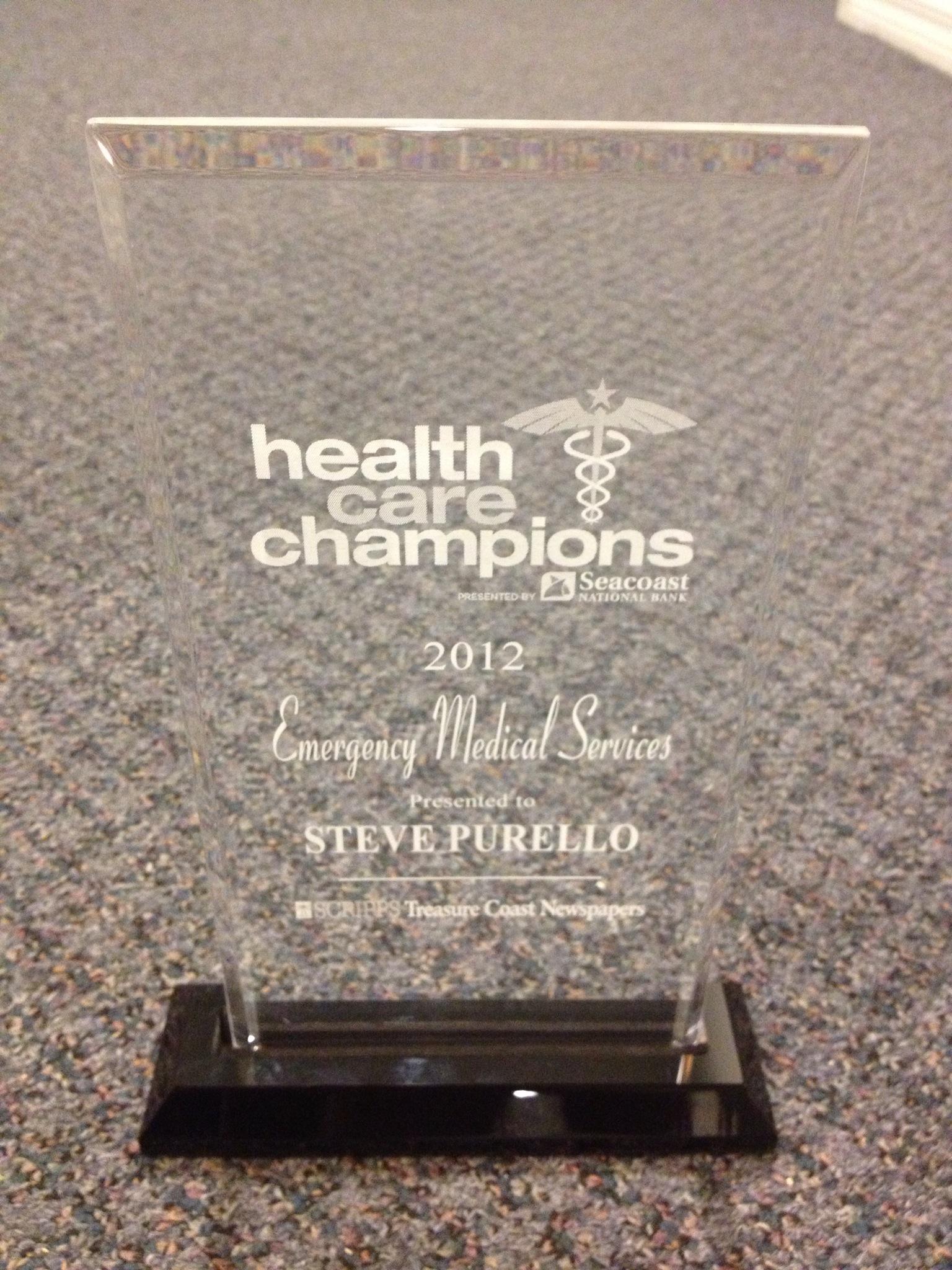 Health Care Champions Award