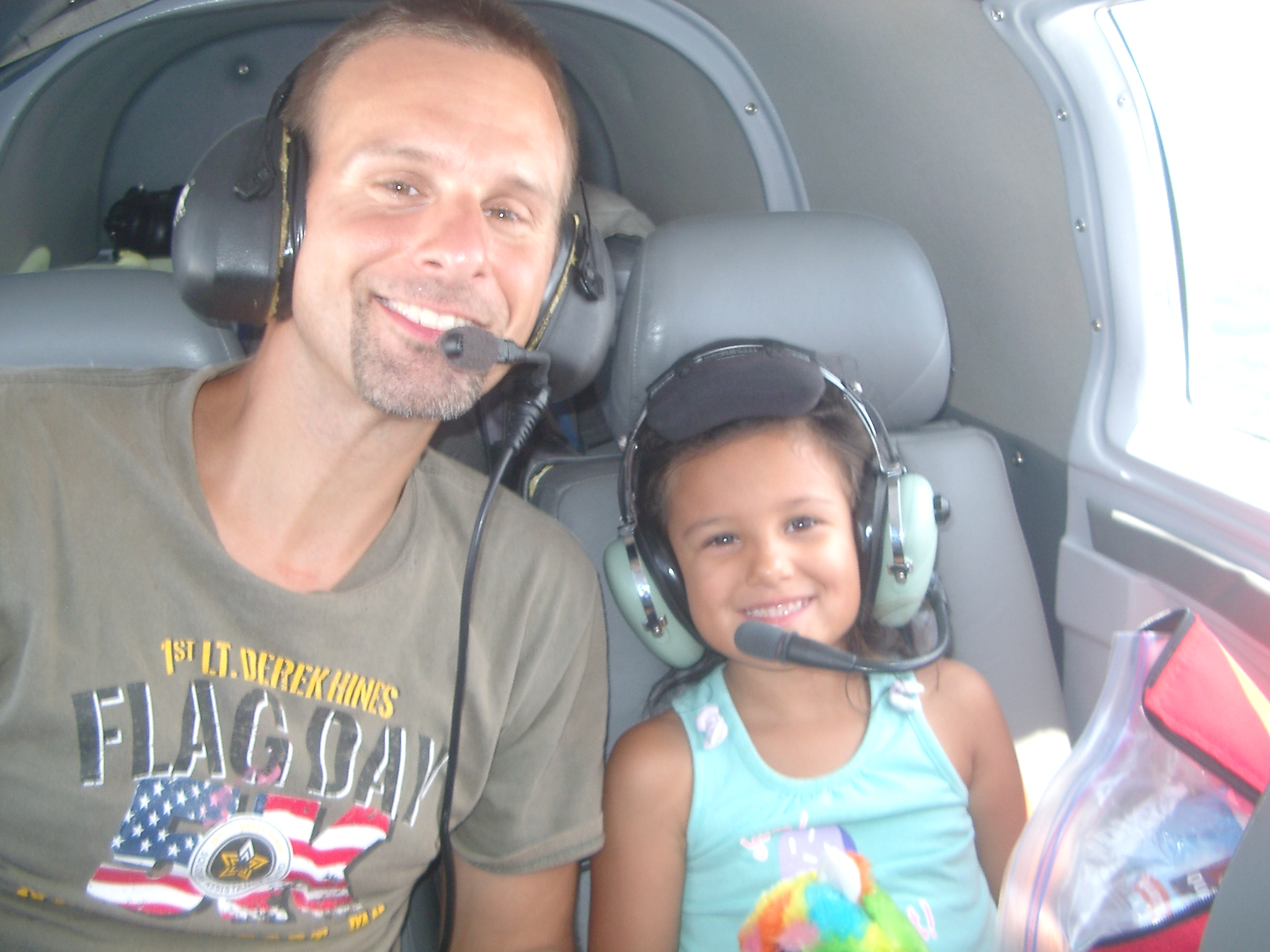 chris-and-christina-n-being-flown-by-pilot-charles-george